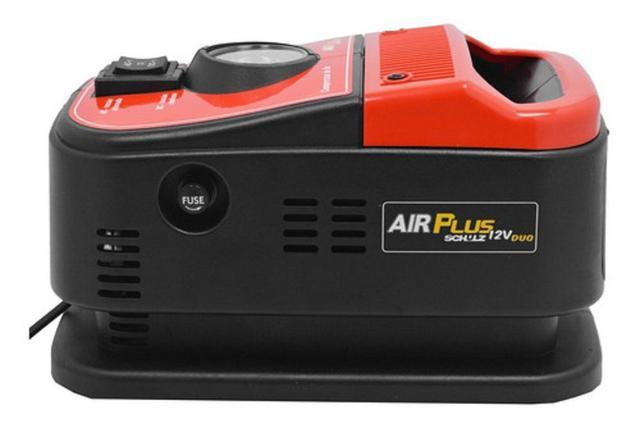 Imagem de Mini compressor de ar 12v 110v ou 220v duo air plus schulz