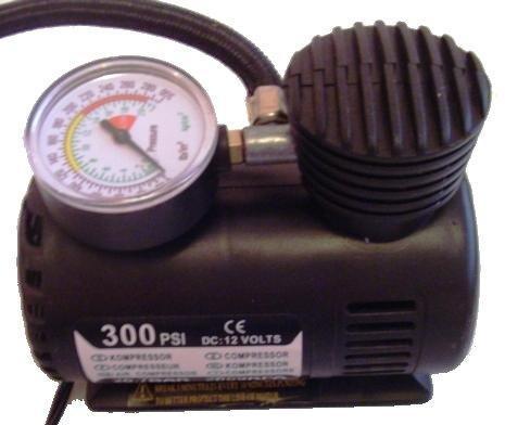 Imagem de Mini Compressor de Ar 300 PSI para Pneus Bolas e Infláveis