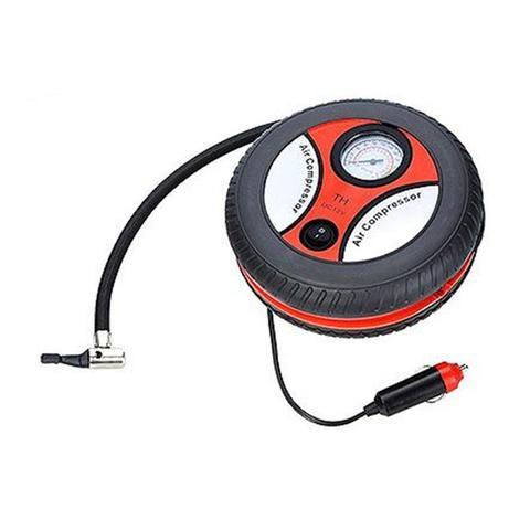Imagem de Mini compressor de ar para pneu de carro e moto, bola, bicicleta, inflaveis automotivo bomba de ar p