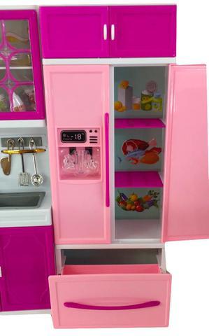 Imagem de Mini Cozinha C/ Acessorios Som E Luz 9pc 818-30