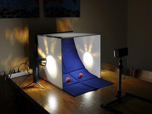 Imagem de Mini Estúdio Fotográfico Easy PB-06 60cm com Lâmpadas 110v