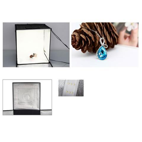 Imagem de Mini Estúdio Fotográfico Portátil 60x60x60 - LED - LT005