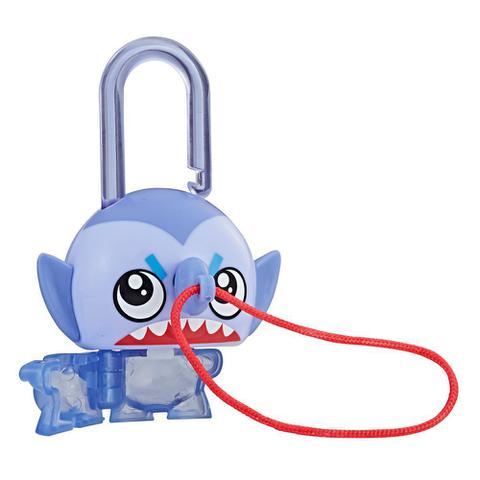 Imagem de Mini Figura - Cadeado Surpresa - Lock Stars - Blue Shark Fish - Hasbro