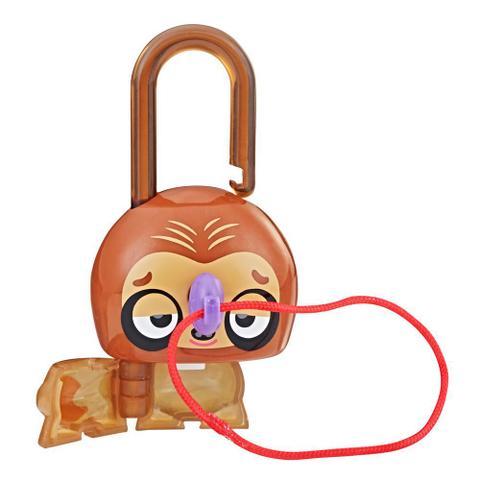 Imagem de Mini Figura - Cadeado Surpresa - Lock Stars - Brown Sloth - Hasbro