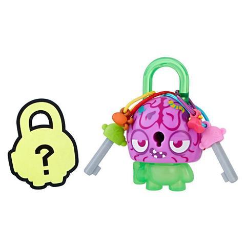Imagem de Mini Figura - Cadeado Surpresa - Lock Stars - Cabeça de Cérebro - Hasbro
