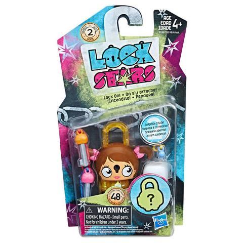 Imagem de Mini Figura - Cadeado Surpresa - Lock Stars - Cavewoman - Hasbro