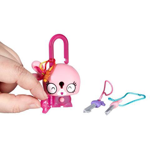 Imagem de Mini Figura - Cadeado Surpresa - Lock Stars - Coelho Rosa - Hasbro