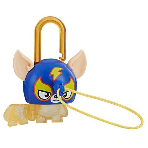 Imagem de Mini Figura - Cadeado Surpresa - Lock Stars - Dogwrestler - Hasbro