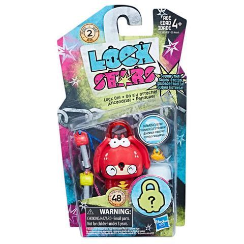 Imagem de Mini Figura - Cadeado Surpresa - Lock Stars - Lagosta - Hasbro