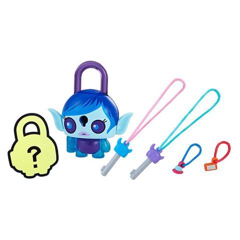 Imagem de Mini Figura - Cadeado Surpresa - Lock Stars - Menina Alien Azul - Hasbro