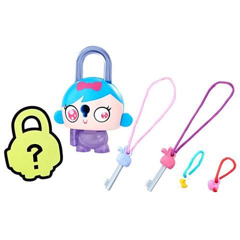 Imagem de Mini Figura - Cadeado Surpresa - Lock Stars - Menina do Cabelo Azul - Hasbro