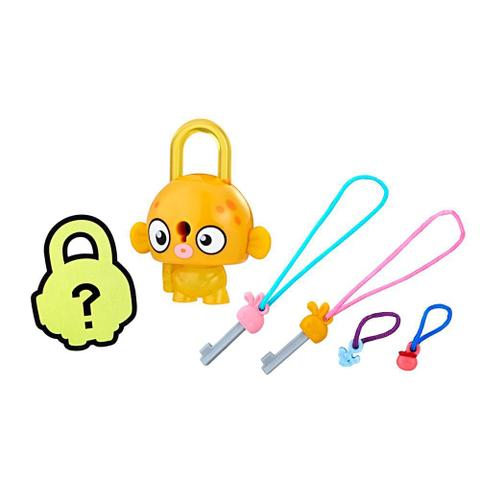 Imagem de Mini Figura - Cadeado Surpresa - Lock Stars - Peixe Laranja - Hasbro