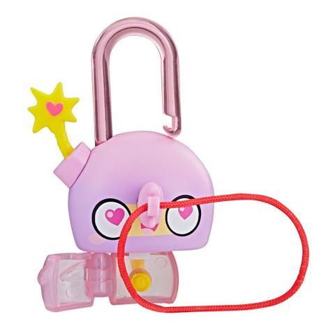 Imagem de Mini Figura - Cadeado Surpresa - Lock Stars - Pink Bomb - Hasbro