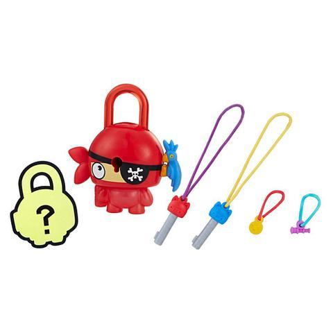 Imagem de Mini Figura - Cadeado Surpresa - Lock Stars - Pirata Vermelho - Hasbro