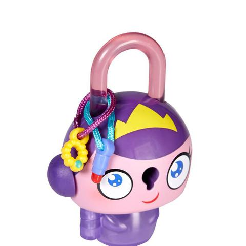 Imagem de Mini Figura - Cadeado Surpresa - Lock Stars - Princesa Roxa - Hasbro