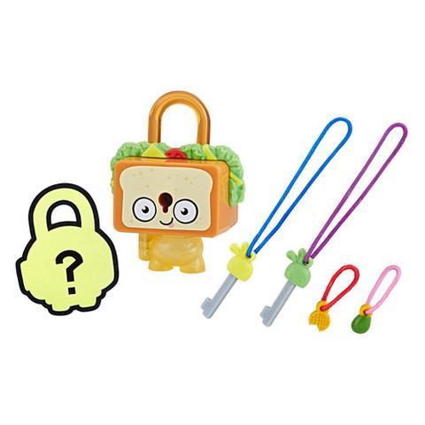 Imagem de Mini Figura - Cadeado Surpresa - Lock Stars - Sandwich - Hasbro