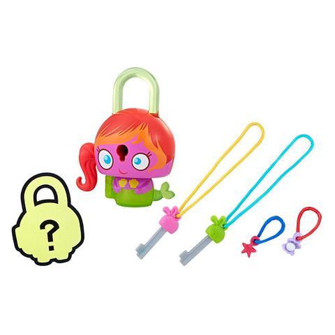 Imagem de Mini Figura - Cadeado Surpresa - Lock Stars - Sereia Rosa - Hasbro