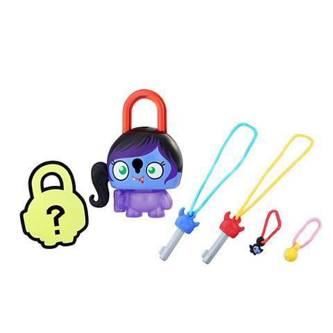 Imagem de Mini Figura - Cadeado Surpresa - Lock Stars - Vampira Roxa - Hasbro