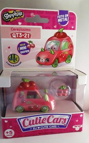 Imagem de Mini Figura e Veículo Shopkins Cutie Cars Blister Unitario