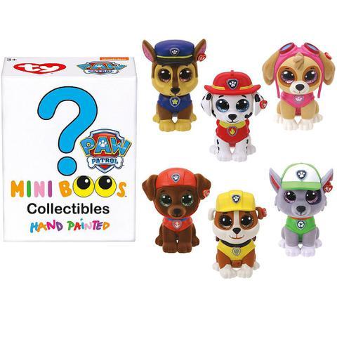 Imagem de Mini Figura Surpresa 5 cm Mini Boos Patrulha Canina Ty Dtc