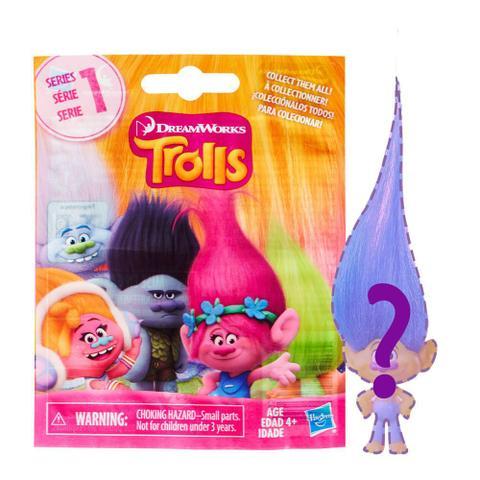 Imagem de Mini Figura Surpresa - Trolls - Hasbro