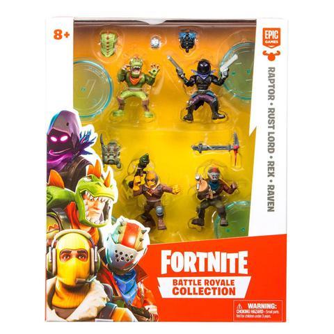 Imagem de Mini Figuras com Acessórios - Fortnite - 4 Personagens Surpresa - Fun