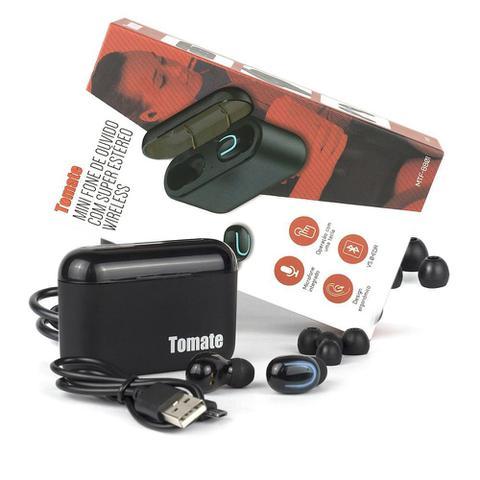 Fone de Ouvido Ouvido Bluetooth Tomate Mtf-8801