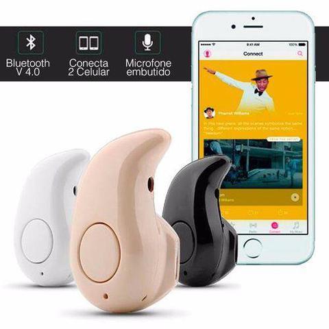 Imagem de Mini Fone De Ouvido Sem Fio Bluetooth V4.0 Micro Menor Do Mundo Preto