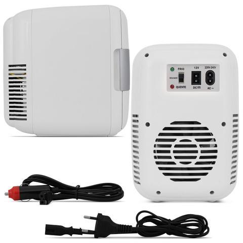 Imagem de Mini Geladeira Portátil Multilaser TV010 4 Litros 12V 220V Refrigera e Aquece