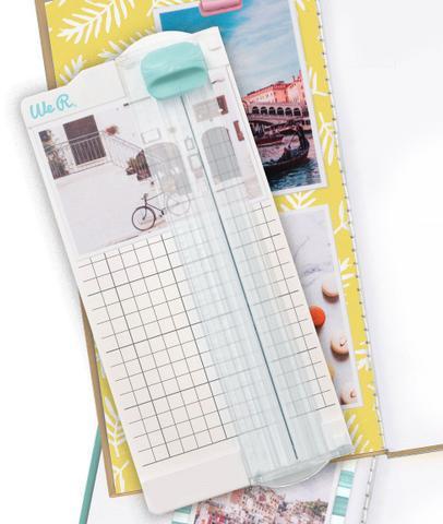 Imagem de Mini Guilhotina 15 Centímetros - Mini Paper Trimmer We R