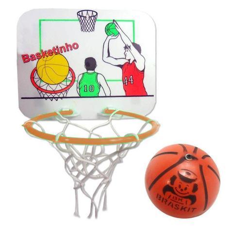 Imagem de Mini jogo basketinho com tabela braskit