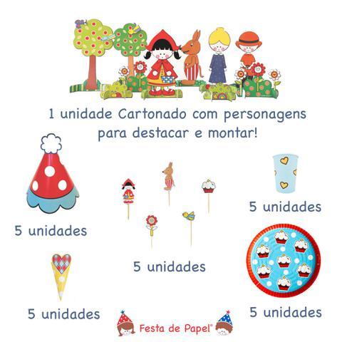 Imagem de Mini Kit Festa Aniversário Chapeuzinho Vermelho 2