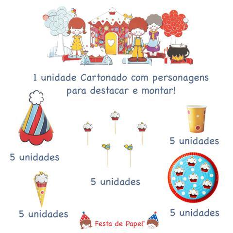 Imagem de Mini Kit Festa Aniversário João e Maria 1