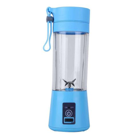 Imagem de Mini Liquidificador Portátil Vitamina Shake Academia + Cabo USB