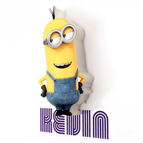 Imagem de Mini Luminária 3d Minions - Kevin