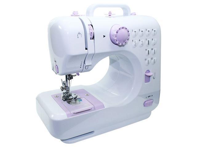 Imagem de Mini Máquina de Costura Lanmax Bivolt 12 pontos