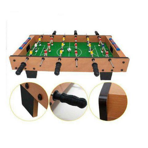 Imagem de Mini Mesa Pebolim Grande Totó Futebol 18 Jogadores Completa