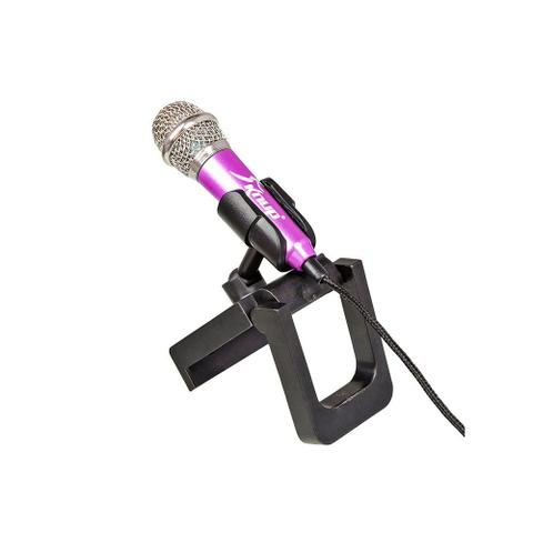 Imagem de Mini Microfone Estéreo P2 Kp-907 Knup Celular Câmeras Gravador Pc Notebook Rosa