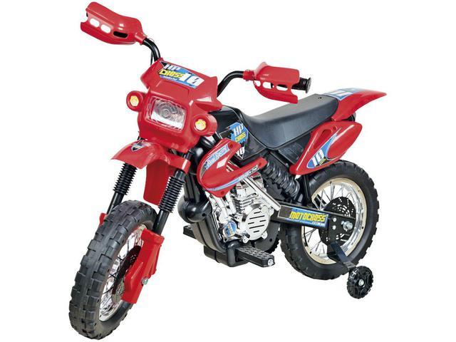 Imagem de Mini Moto Elétrica Infantil Motocross 6V