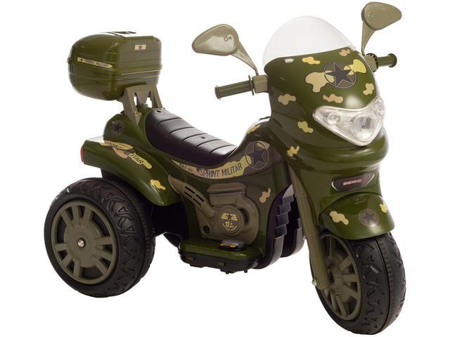 Imagem de Mini Moto Elétrica Infantil Sprint Turbo Militar
