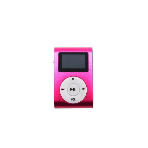 Imagem de Mini Mp3 Player c/ Fone de Ouvido Pink