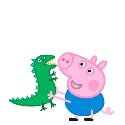 Imagem de Mini Painel EVA George Pig Peppa Pig Piffer