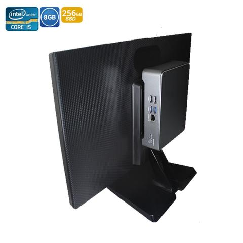 Imagem de Mini Pc Nuc Intel Thargon Core i5-4210U 8GB + SSD M2 256GB + Monitor 19 + Lic. Windows 10 OEM