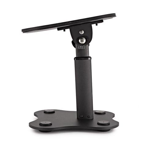 Imagem de Mini Pedestal,suporte,estante de MESA P/ monitor De Referência c/ ajuste de altura (23,5 cm - 28 cm)