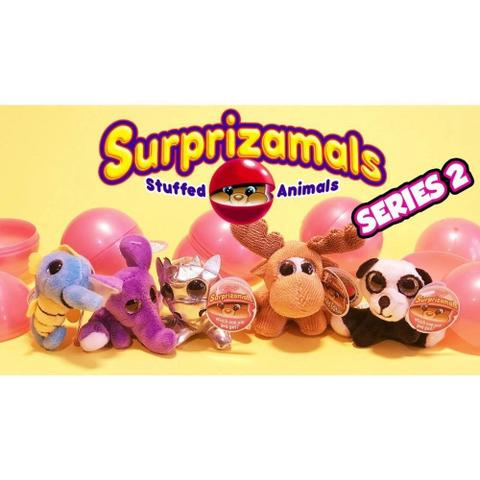 Imagem de Mini Pelúcia Surpresa Surprizamals Série 2 - Toyng