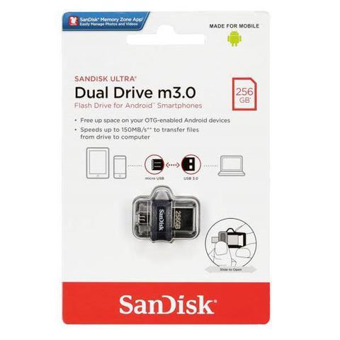 Pen Drive Sandisk Dual Drive 256gb
