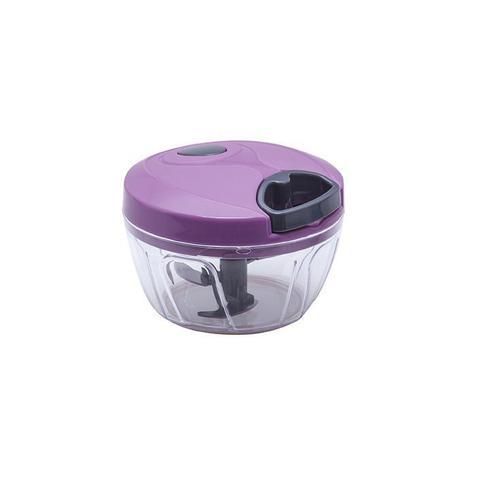 Imagem de Mini Processador e Triturador de Alimentos Manual 3 Laminas