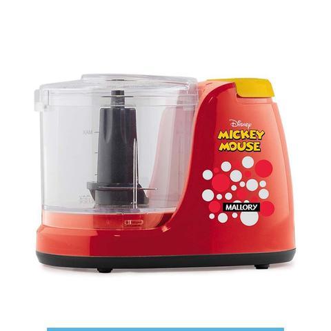 Imagem de Mini Processador Mallory Disney Preta e Vermelha