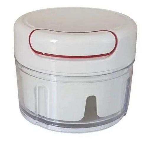 Imagem de Mini Processador Triturador de Alimentos Manual 2 Laminas