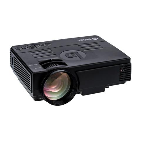 Imagem de Mini Projetor Led Portatil - Betec BT810 - 1200 Lumens - Bluetooth - Entrada HDMI, VGA, AV, SD e USB